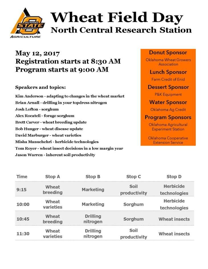 2017 Lahoma program
